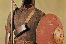 shields, armors and helmets