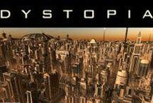 Distopias: mundos (im)posibles / Brevísimo recorrido por la literatura distópica para conmemorar el aniversario de la publicación de la novela 1984 de George Orwell, el 8 de junio de 1949.