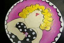 Tante Pietje Dikke dames / Kastjes meubels decoratie Gemaakt door Tante Pietje http://tante-pietje.webnode.nl/produkten/