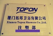 Plastic Material Injection / Here are latest 11 energy-efficient electric presses operate at present,the molding of all Topon Shower' plastic component is carried on these machines.