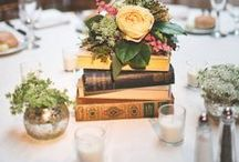 Book-inspired wedding