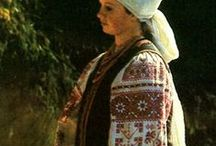 Slavic Look / Slavic clothes, embroidery, patterns