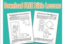 Free Bible Lessons and Bible Activities for Kids! / Check out our FREE Bible Lessons, Crafts, and Activities from our bestselling kids Bible lessons and devotionals!