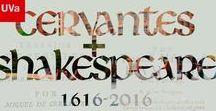 Cervantes / Shakespeare: vidas cruzadas / Celebración del 400 aniversario de la muerte de dos escritores fundamentales para la historia de la literatura. Recogemos eventos, festivales, curiosidades, relatos en los que ambos genios juntos son los protagonistas.