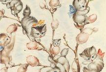 ART животные / Уроки и примеры по рисованию животных. Строение. Цвет. Позы.