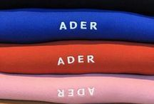 Significant tag line / Signature collection of ADER
