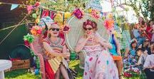 WEDDING: Colourful craft extravaganza  <3 / Craft and Colour Wedding and all the inspiration behind it!  Wedding Photos taken by Rachel Manns Rainbow Bright Craftastic DIY Wedding #diywedding #alternativebride #alternativewedding #craftwedding #rainbowwedding #weddinginspo