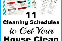 Cleaning Tips / Cleaning schedules, handy cleaning tips & tricks for every room in your home, cleaning hacks, & DIY cleaners. Tons of smart ideas for keeping things clean in less time with less effort. For more cleaning tips visit ACultivatedNest.com