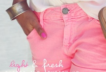 Fashionista / I LOVE fashion! Pops of color, classy & sexy. Bold, bright, and beautiful!  / by Renee Robinson