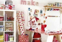 Craft room inspiration / by Suzanne Lambert