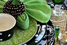 Entertaining ideas....Tablescapes / by Kristy Waer-Hayes