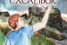 The Search for the Stone of Excalibur / Now available, the second book in the Chronicles of the Stone series. Young heroes Adam and Justin find themselves in England and Scotland on the trail of the Second Stone of Power. At the same time, an ancient sword has been found, dating to around 500 AD, the time of the Dark Ages, the time of King Arthur. Could this be the famous Excalibur, and is the stone embedded in the sword's hilt the Second Stone of Power?
