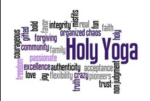 Yoga & Holy Yoga  / Holy Yoga is the intentional practice of connecting our entire being; body, mind and spirit with God; the Father, Son & Holy Spirit. When we breathe & move & have our being in Christ, we find ourselves in the flow of His magnificence. There is often a misunderstanding that yoga is a religion, it is not.  Yoga is a spiritual discipline, much like prayer, fasting and meditation. Yoga has the capacity to enhance our personal beliefs and faith. www.holyyoga.net and www.revelationwellness.com / by Renee Robinson