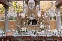 Vintage Wedding / On trend ideas for a vintage lace wedding.