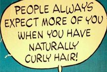 Tips for my curly gurly / by Lissette Herrera