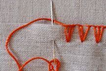 EMBROIDERIE / STITCHES & DETAILS / by Alexsandra Dotto