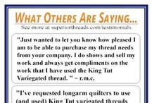 What Others Are Saying.... / Helpful feedback from real customers. Please share with us how you have enjoyed the products.