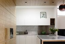 Naturally Timber / You can't go past the natural beauty of timber. Solid, veneer or faux timber elements can add a tactile warmth to any kitchen or bathroom.