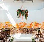 Orange Inspiration / Such a versatile colour.  Perfect for an autumn wedding.  For more orange inspiration see our Autumn Wedding Theme board.