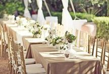 Taupe Inspiration / Taupes and rich browns to create a dazzling wedding palette.