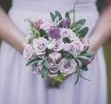 Lavender and Lilac / These lighter shades of purple are so popular for a wedding palette that understated and work with lots of themes (rustic, boho, classic to name a few)