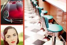 1950's wedding inspiration / Great ideas of how to bring the 1950's alive in your wedding.