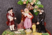 Antique Staffordshire Figures / by Gail Hewitt
