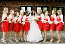Red & White Wedding /   / by Julie K