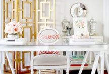 Office Inspiration / This summer I am planning on giving my home office a serious makeover.  This contest gives me the perfect chance to create a chic inspiration board.  I would love to win a Lowe's gift card and add an adorne plate and switch in my new office! / by Julie K