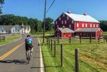 Shenandoah & Civil War Tour / An Inn to Inn Cycling Tour. Ride through the exceptional landscapes of the Virginia Blue Ridge and into the Civil War history of West Virginia, Maryland, Virginia, and Pennsylvania.