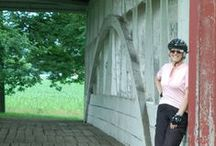 Heroes, Barns & Bridges / On the Heroes, Barns and Bridges biking tour, you'll spend four days and three nights along the country roads of western Pennsylvania. Enjoy the history and the beauty as you travel through Bedford and Ligonier.   http://wilderness-voyageurs.com/bike-tour-americana.html  #pennsylvaniabiketour #bikingvacation