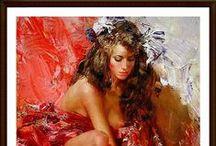 IVAN SLAVINSKY / Ivan Slavinsky 1968 | Rusia | pintor surrealista e impresionista