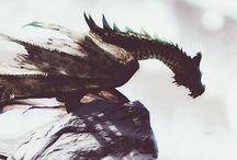 Dragons/illustration