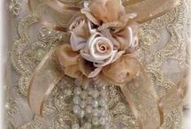 SHABBY CHIC LACE & FABRIC / Shabby Chic & vintage art