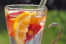 Healthy Drinks / Get the latest recipe ideas here :) #water, #drinks, #fruitwater, #juices, #smoothies