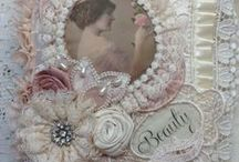 SHABBY CHIC LACE & FABRIC - 2 / Shabby Chic & Vintage Art.