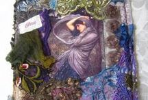 SHABBY CHIC LACE & FABRIC - 3 / Shabby Chic and Vintage Art