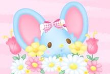 Sanriღ / Sanrio has many other adorable characters besides Hello Kitty! My favorite is Hummingmint.