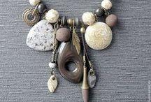 ПГ. Кулоны. Этно. / Бижутерия из полимерной глины выполненная в стиле этно.