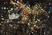 Contemporary Painters / & *Collage*printmaking*assemblage ect