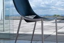cool, mod dining chairs / A cool collection of contemporary and modern dining chairs ideal for the urban home!
