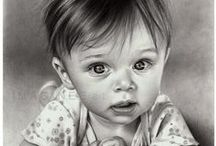 PENCIL - GRAPHITE & CHARCOAL ART / AMAZING PENCIL, CHARCOAL AND GRAPHITE DRAWINGS.