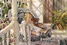 TRISHA ROMANCE / Painter & Illustrator