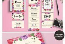 Beautiful, Modern, Trendy Wedding Invitation Designs