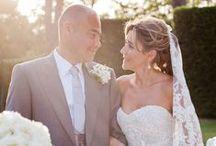 Tuscany luxury summer wedding / Destination wedding photographer stylish refined ceremony and reception in Tuscany