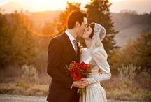 Fall and winter wedding photography in Tuscany  / Fall and winter Wedding photography in Tuscany, Italy