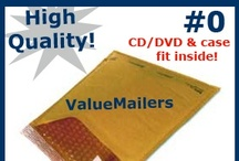 Products / Various images of the products we offer here at ValueMailers.Com. Save 20-75% on your shipping supplies.