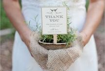 special wedding objects / Original object for weddings ideas