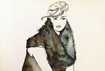 fashion illustration~