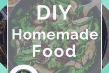 Homemade Food / Homemade Food Recipes and Homemade Food Gifts | Homemade Recipes - Dinner Ideas, Snacks, Homemade Recipes for Kids, Gifts and  DIY Food Tutorials we love on Pinterest